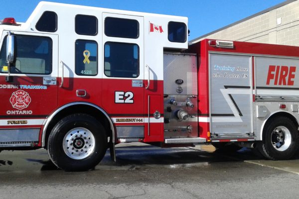 Rescue Pumper Truck